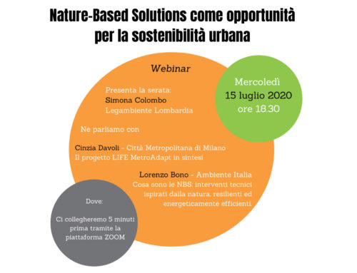 Nature-Based Solutions as an opportunity for urban sustainability