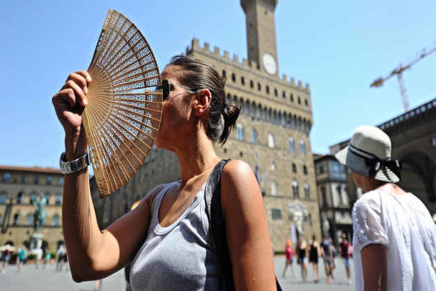 2018 was the hottest year in Italy since 1800