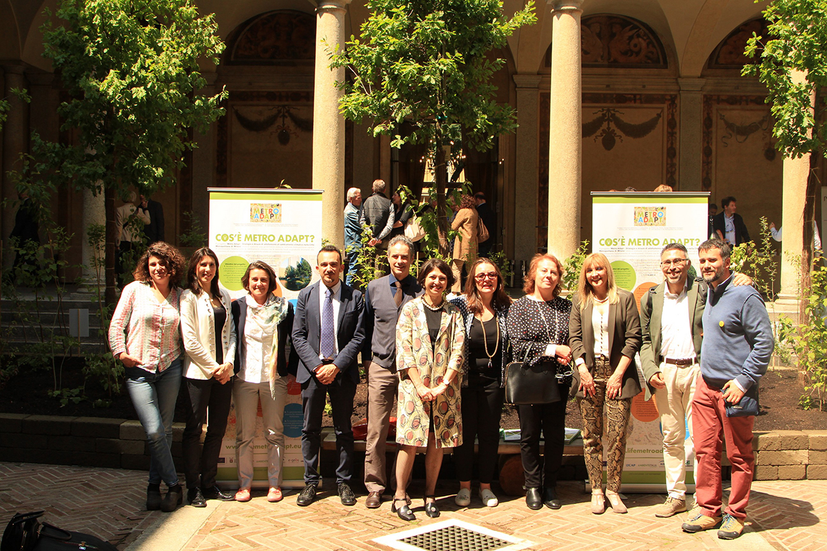 Metro Adapt goes live during the Festival of Sustainable Development in Milan