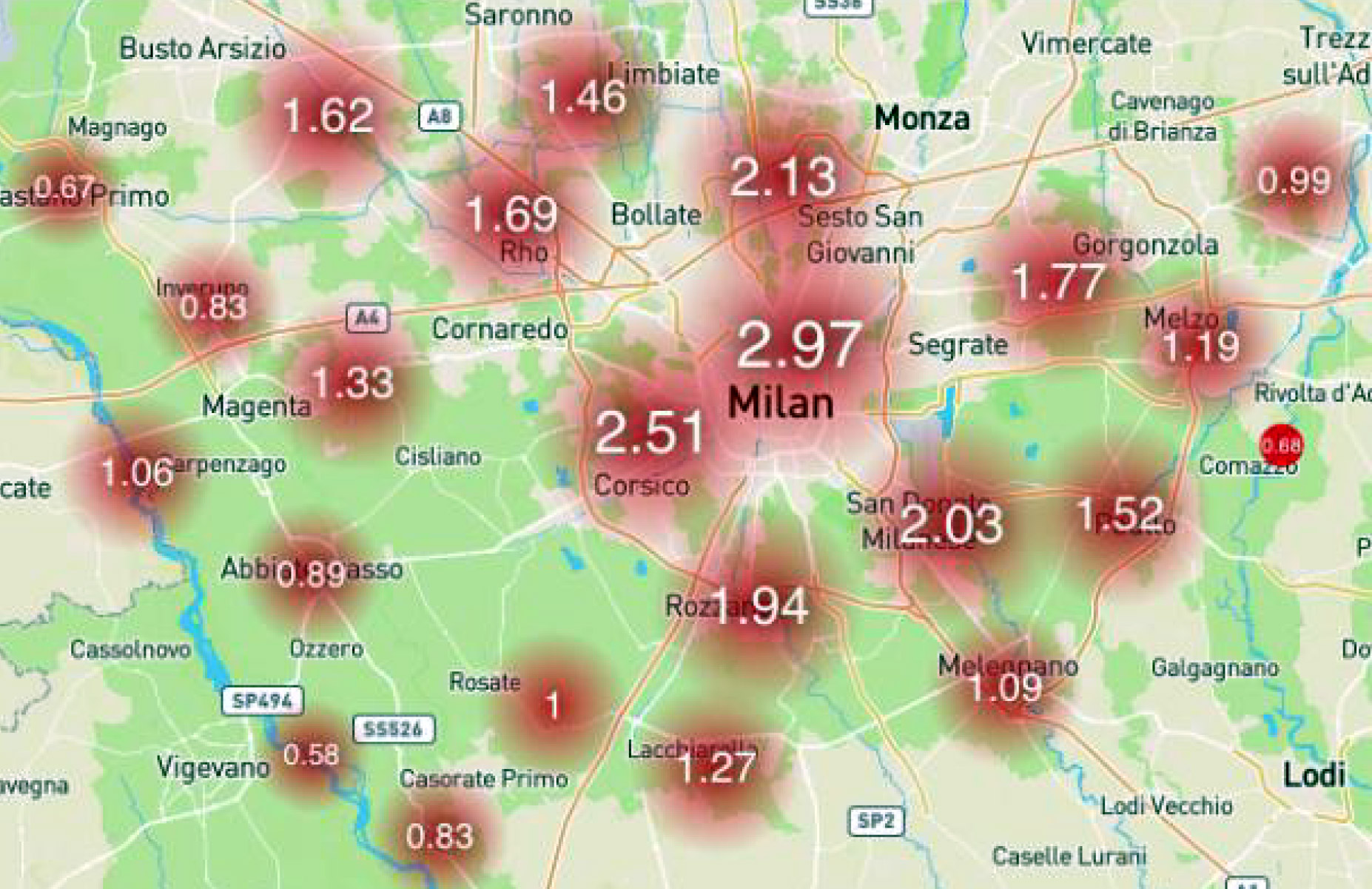 Città Metropolitana: 125 mila cittadini a rischio termico e sanitario