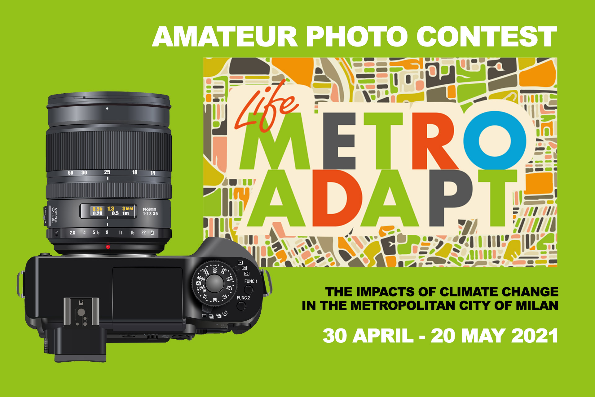 "Join the photo contest ""PhotoAdapt: The impacts of climate change in the Metropolitan City of Milan"""