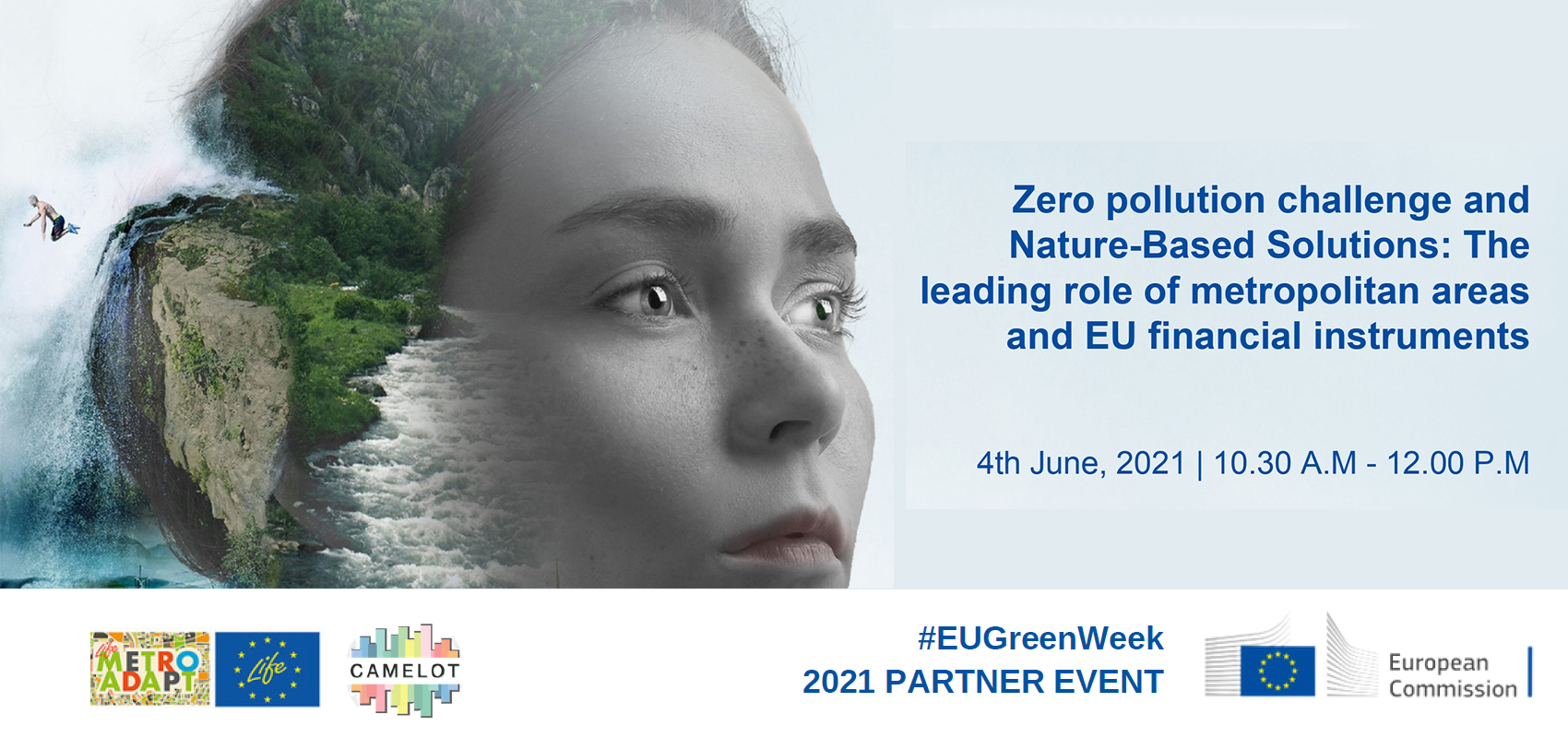 """""""ZERO POLLUTION FOR HEALTHIER PEOPLE AND PLANET: Join us at the Eu Green Week 2021""""!"""